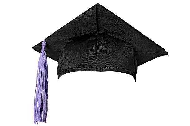 卒業式キャップ(白):スマホ壁紙(壁紙.com)