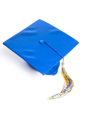 卒業「卒業の帽子」:スマホ壁紙(11)