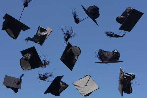 Graduation「Graduation Caps」:スマホ壁紙(7)