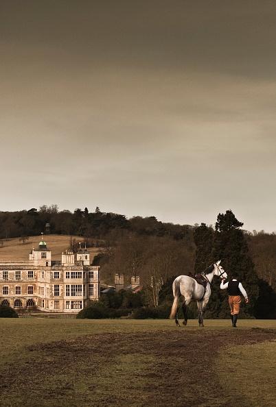 Overcast「Re-Enactor Leading A Horse Towards Audley End House」:写真・画像(11)[壁紙.com]