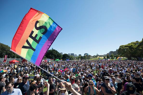 オーストラリア「Australians Gather To Hear Result Of Marriage Equality Survey」:写真・画像(3)[壁紙.com]