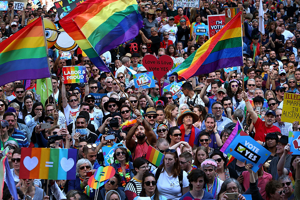オーストラリア「Sydneysiders Rally For Marriage Equality Ahead Of National Postal Vote On Same-Sex Marriage」:写真・画像(12)[壁紙.com]