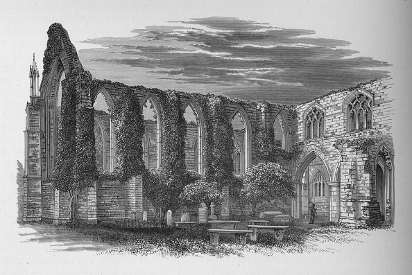 Run-Down「'From the North', Bolton Priory, c1880, (1897)」:写真・画像(19)[壁紙.com]
