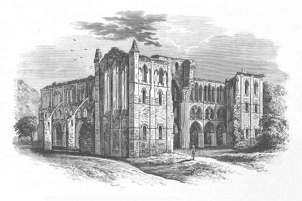 Run-Down「'From the North', Rievaulx Abbey, c1880, (1897)」:写真・画像(18)[壁紙.com]