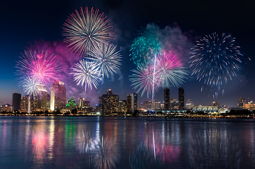 Firework Display「San Diego - California」:スマホ壁紙(16)