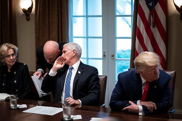 Business Person「Trump, Coronavirus Task Force Members Meet With Pharmaceutical Executives」:写真・画像(17)[壁紙.com]