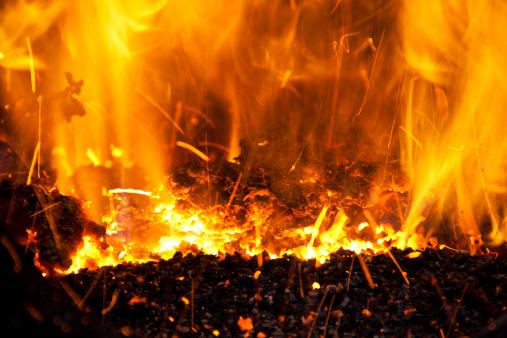 Hell「Burning fire flame」:スマホ壁紙(17)