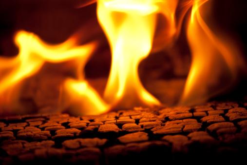 Blurred Motion「Burning Fire」:スマホ壁紙(13)