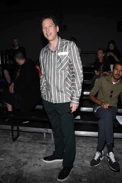 Lanvin Menswear「Lanvin : Front Row - Paris Fashion Week - Menswear Spring/Summer 2018」:写真・画像(16)[壁紙.com]