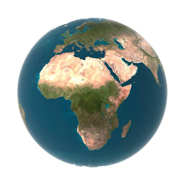 Globe with Africa prominent (Digital):スマホ壁紙(壁紙.com)