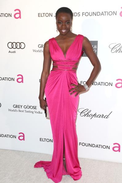 Hot Pink「21st Annual Elton John AIDS Foundation's Oscar Viewing Party - Arrivals」:写真・画像(15)[壁紙.com]