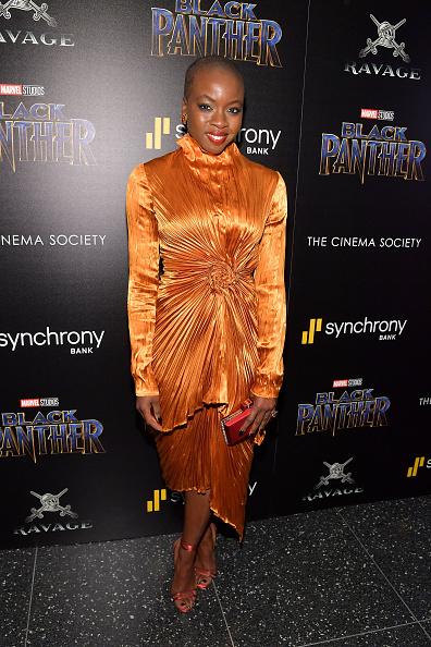 "Danai Gurira「The Cinema Society Hosts A Screening Of Marvel Studios' ""Black Panther""」:写真・画像(19)[壁紙.com]"