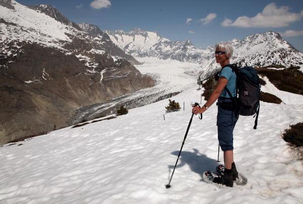 アレッチ氷河「Aletsch Glacier Retreat Continues」:写真・画像(9)[壁紙.com]