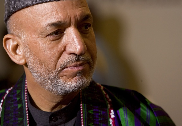United Nations Building「UN Secretary General Meets With Hamid Karzai On Afghanistan」:写真・画像(6)[壁紙.com]