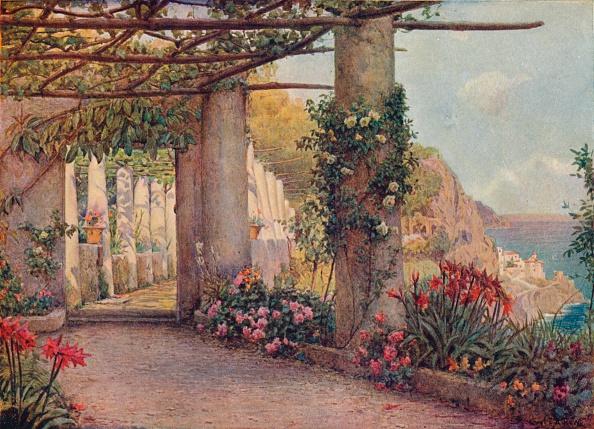 Cappuccino「The Cappuccino, Amalfi, (1903). Artist: Ernest Arthur Rowe」:写真・画像(4)[壁紙.com]