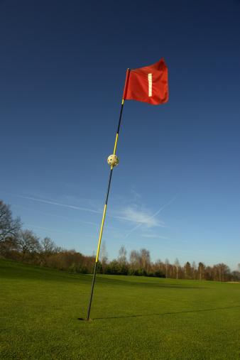 ゴルフ「ゴルフの旗」:スマホ壁紙(8)