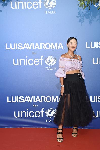 Off Shoulder「Unicef Summer Gala Presented by Luisaviaroma – Photocall」:写真・画像(5)[壁紙.com]