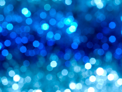 Glowing「Blurred lights effect on a blue and white background」:スマホ壁紙(13)