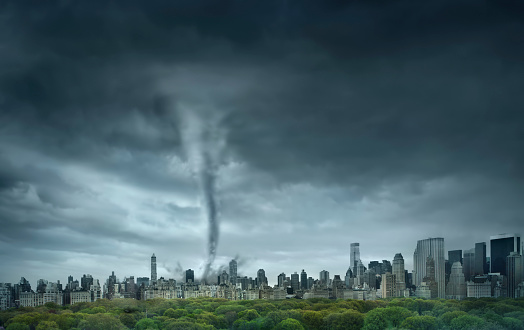Tornado「Tornado rolling through New York, New York, United States」:スマホ壁紙(18)