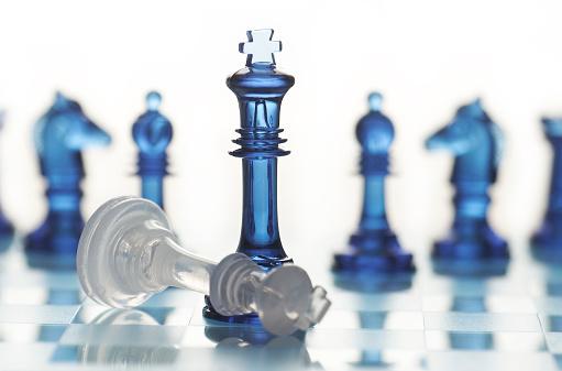 チェス「チェックメート」:スマホ壁紙(18)