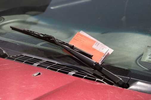 Windshield Wiper「Parking ticket behind a wiper」:スマホ壁紙(10)