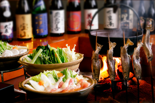 Sake「Chars Cooked on Japanese Traditional Hearth」:スマホ壁紙(18)
