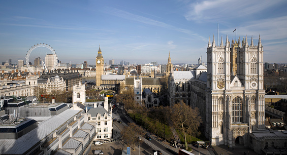 Westminster Abbey「London Landmarks」:スマホ壁紙(16)