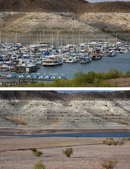 Composite Image「Before And After: Lake Mead And The Drought」:写真・画像(18)[壁紙.com]