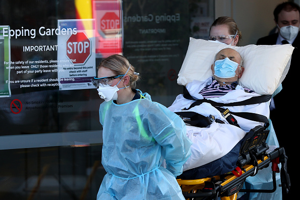 Melbourne - Australia「Melbourne Aged Care Patients Relocated To Hospitals As COVID-19 Lockdown Continues」:写真・画像(12)[壁紙.com]