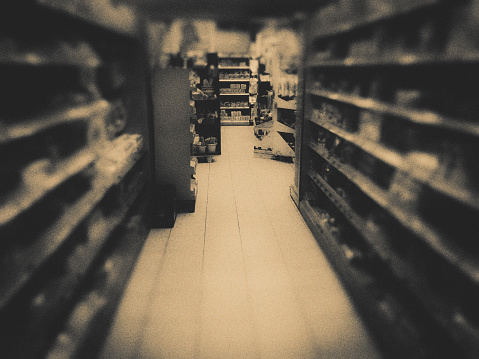 Choosing「Supermarket」:スマホ壁紙(5)