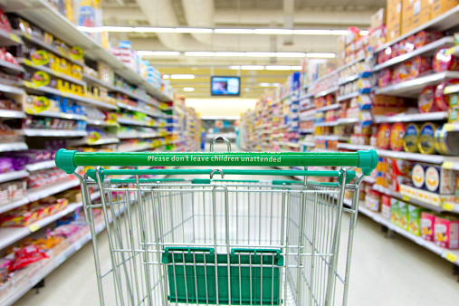 Shopping Cart「supermarket cart」:スマホ壁紙(15)