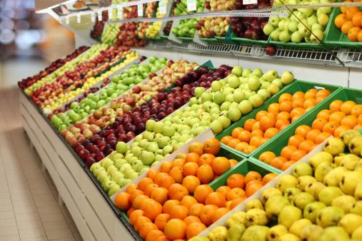 Orange - Fruit「Supermarket-Fruits」:スマホ壁紙(5)