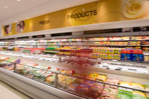 Refrigerated Section「Supermarket aisle」:スマホ壁紙(15)