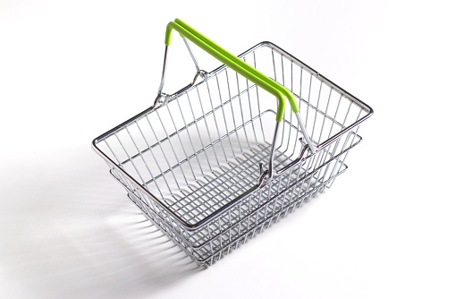 Shopping Basket「Supermarket shopping basket close up」:スマホ壁紙(1)