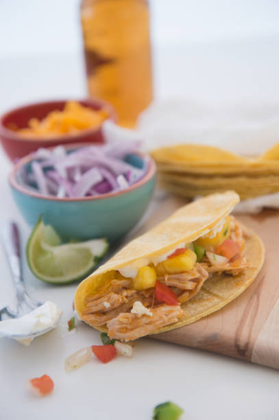 Mexican chicken taco:スマホ壁紙(壁紙.com)