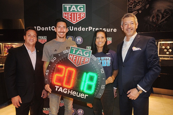Gerardo Mora「TAG Heuer Announces New Partnership With Orlando City SC & Orlando Pride」:写真・画像(9)[壁紙.com]