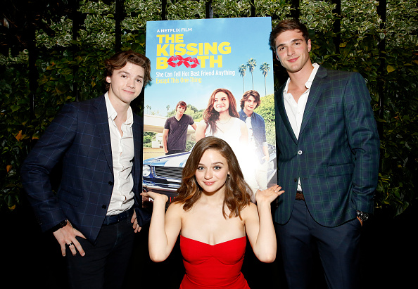 """Three People「""""The Kissing Booth"""" Special Screening」:写真・画像(4)[壁紙.com]"""