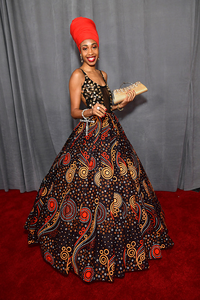 Gold Purse「62nd Annual GRAMMY Awards – Red Carpet」:写真・画像(0)[壁紙.com]