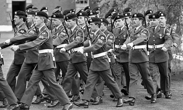Opportunity「Passing Out Parade of NCO at Cathal Brugha Barracks 1986」:写真・画像(19)[壁紙.com]