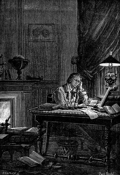 UJJ Leverrier, French astronomer calculating the position of the planet Neptune in 1846 (1881).:ニュース(壁紙.com)