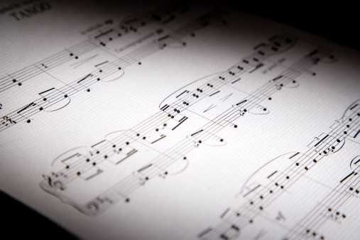Manuscript「Music score」:スマホ壁紙(0)