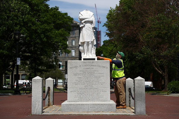Statue「Head Removed From Christopher Columbus Statue In North End Of Boston」:写真・画像(14)[壁紙.com]