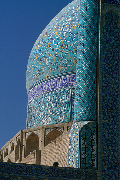 Brick Wall「Dome of the Masjed-e Emam mosque. Esfahan, Iran.」:写真・画像(19)[壁紙.com]