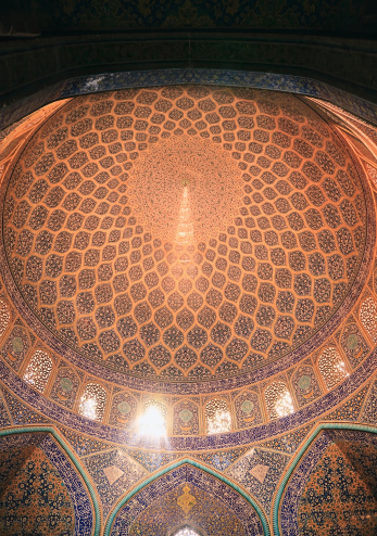 Iranian Culture「Dome of the Masjid-I Sheikh Lotfallah (Mosque), Iran」:スマホ壁紙(4)