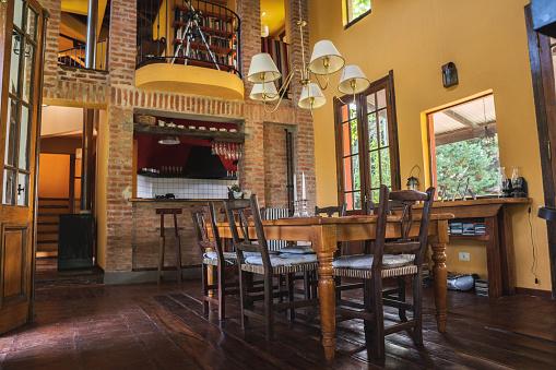 Chalet「Rustic dining room.」:スマホ壁紙(10)