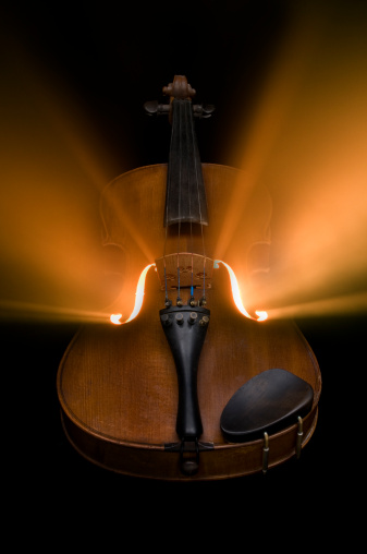 Violin「Music within」:スマホ壁紙(2)