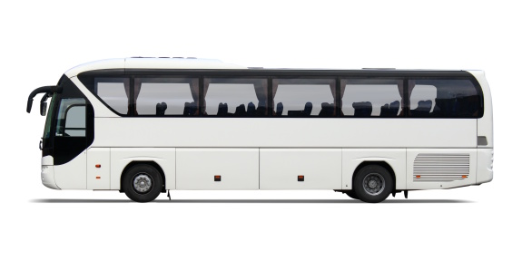Exploration「Empty white tour bus with no driver or passengers」:スマホ壁紙(4)