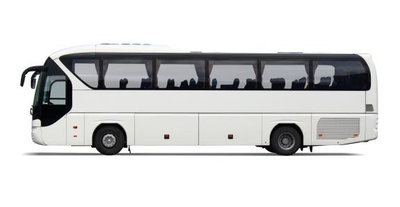 Exploration「Empty white tour bus with no driver or passengers」:スマホ壁紙(0)