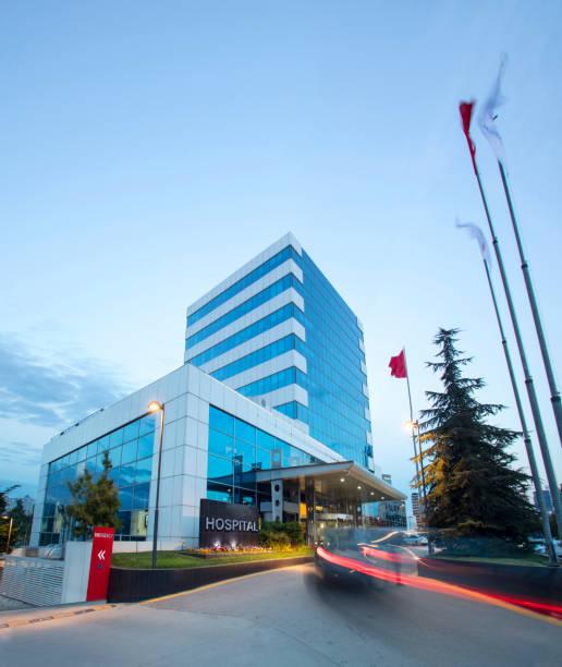 Modern Hospital Building:スマホ壁紙(壁紙.com)