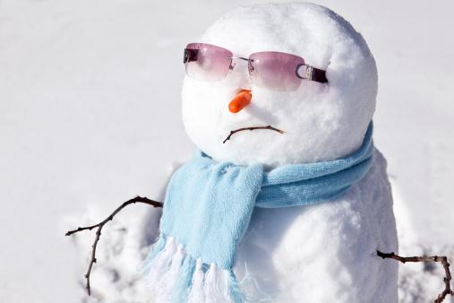 雪だるま「Snowman」:スマホ壁紙(4)